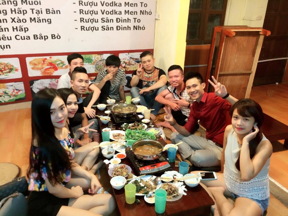 Sinh Nhật Tuấn - Ăn lẩu tại Nguyễn Bình Trọng