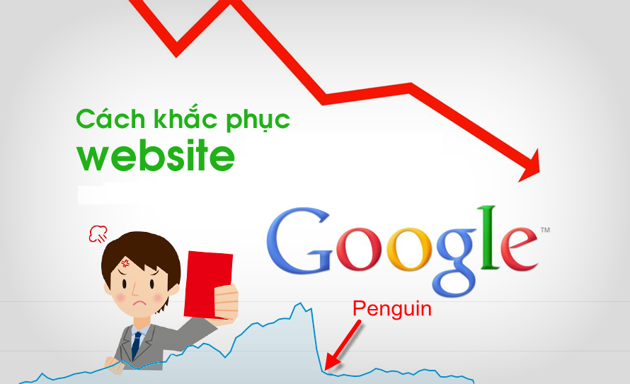 Cách khắc phục website bị dính thuật toán penguin