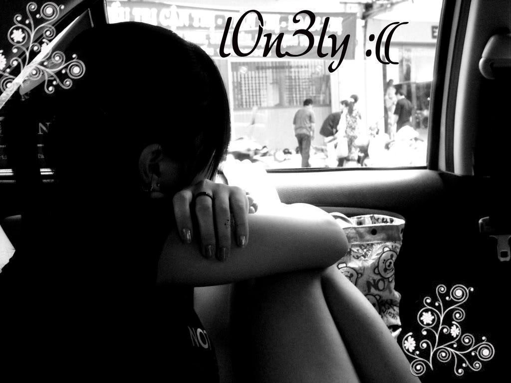 Hình nền cô đơn hụt hẫng trong tình yêu