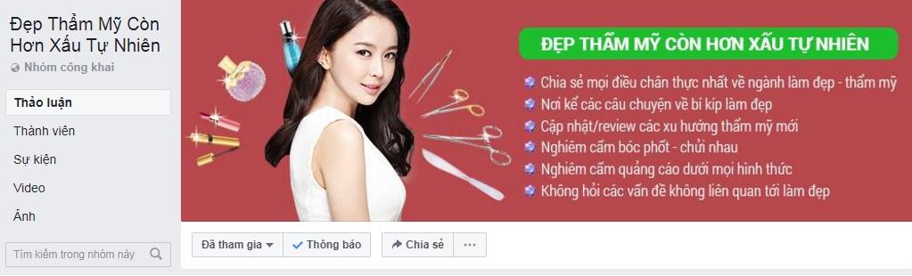 Kích thước ảnh bìa nhóm group Facebook