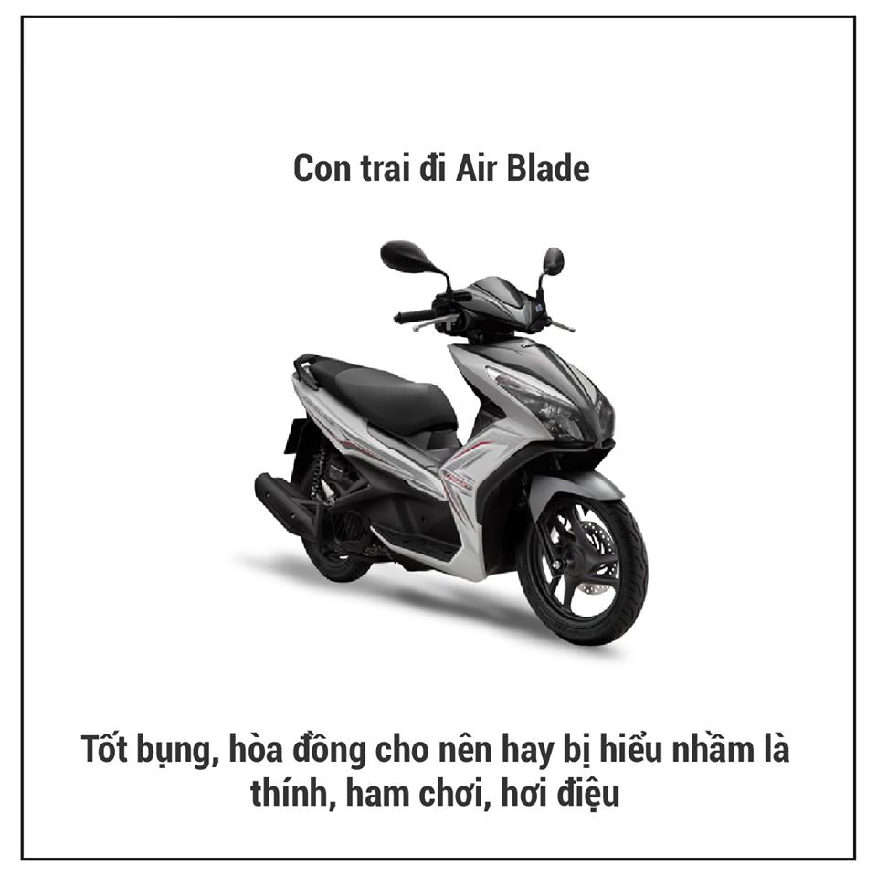 Bật mí 13 dòng xe máy nói lên tính cách đặc biệt của con trai