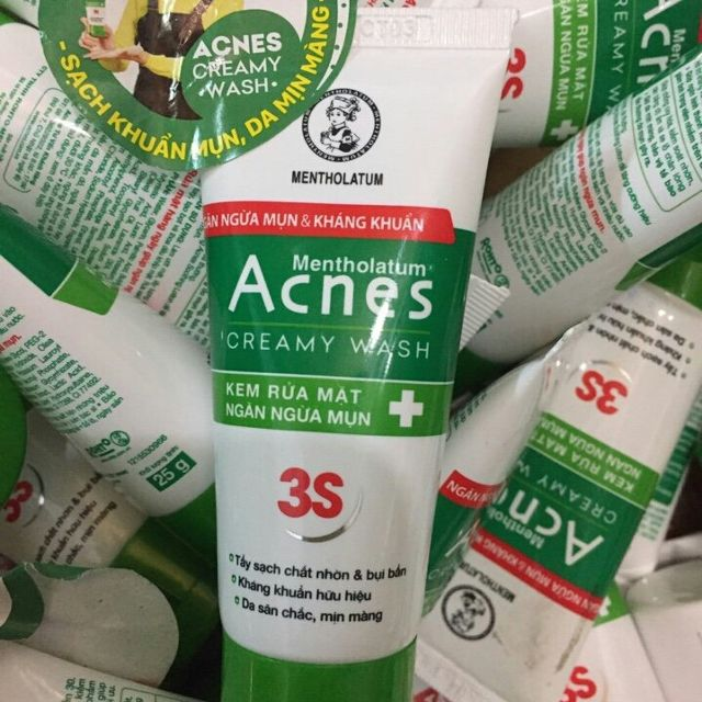 Kết quả hình ảnh cho sữa rửa mặt Acnes