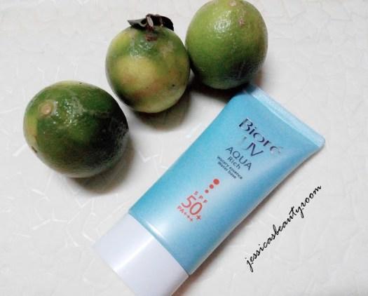 Biore UV Aqua Rich - chăm sóc da tuổi teen