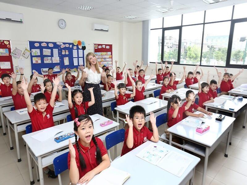 Trường học quốc tế Vinshool trong dự án Vinhomes Giảng Võ