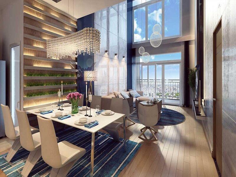Thiết kế căn hộ Duplex Vinhomes Giảng Võ