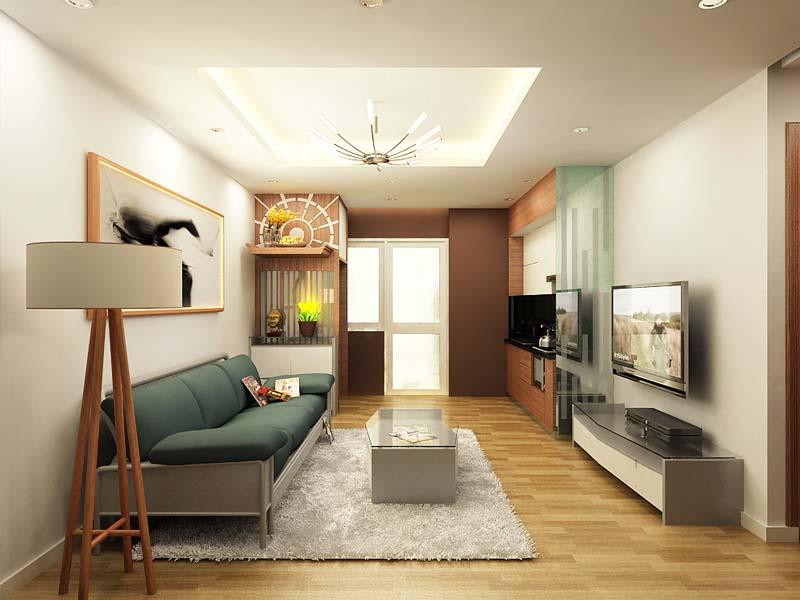 Làm thế nào để thiết kế nội thất phòng khách 16m2 đến 18m2 hiệu quả nhất ? KN3006059 - Kiến trúc Angcovat