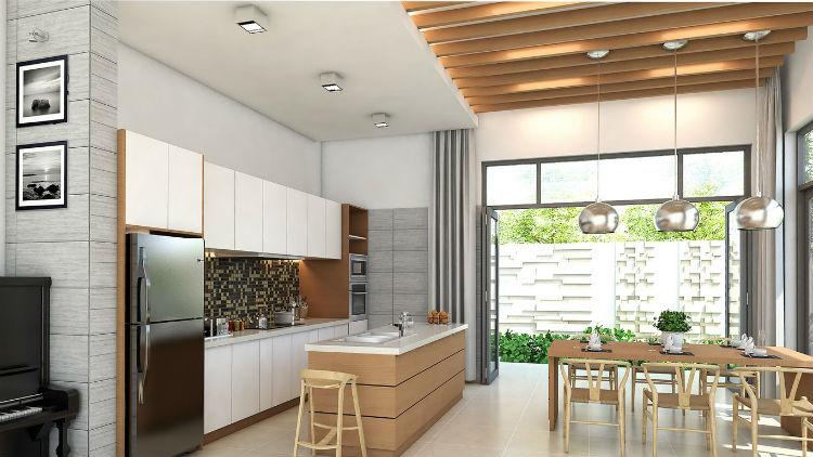 Top 5 mẫu thiết kế phòng bếp cho nhà chung cư 'đẹp bất chấp', ai ngắm cũng trầm trồ