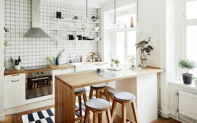 101+ Mẫu thiết kế phòng bếp đẹp hiện đại theo phong thủy