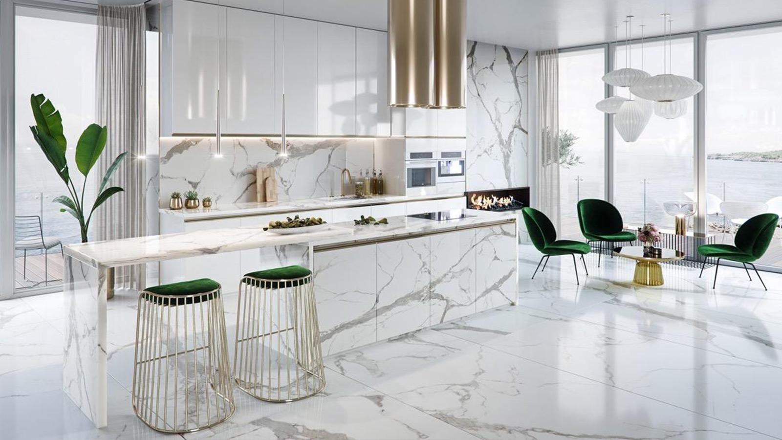 15 Mẫu thiết kế phòng bếp đẹp được ưa chuộng nhất 2019 - FeelDecor