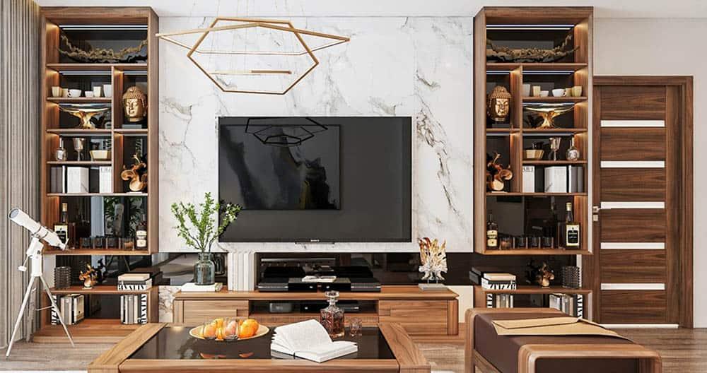 Nội thất gỗ óc chó – Chia sẻ kinh nghiệm thiết kế thi công